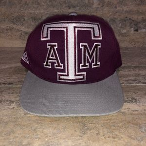 Vintage Texas A&M Aggies Apex One fitted hat